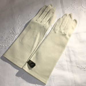 Dressy Vintage Gloves From The Philippines Cotton